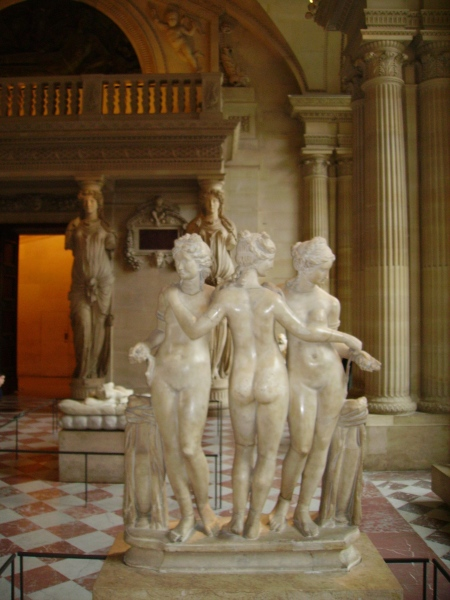 The Three Graces - Louvre
