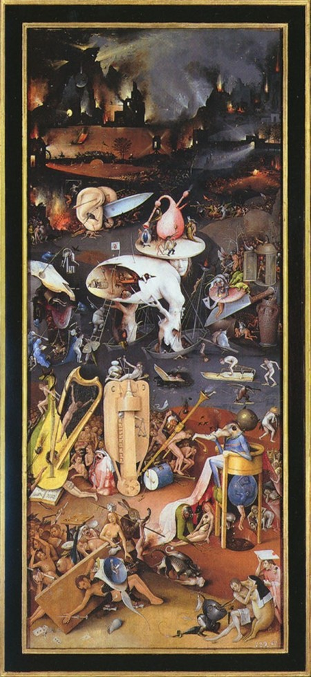 The Garden of Earthly Delights (right panel)