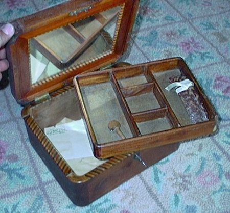 wooden box - photos